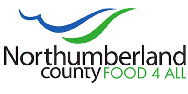Northumberland County Food 4 All logo